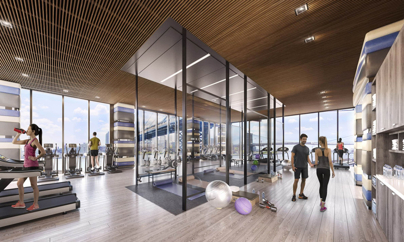 15-One-Manhattan-Square-Gym