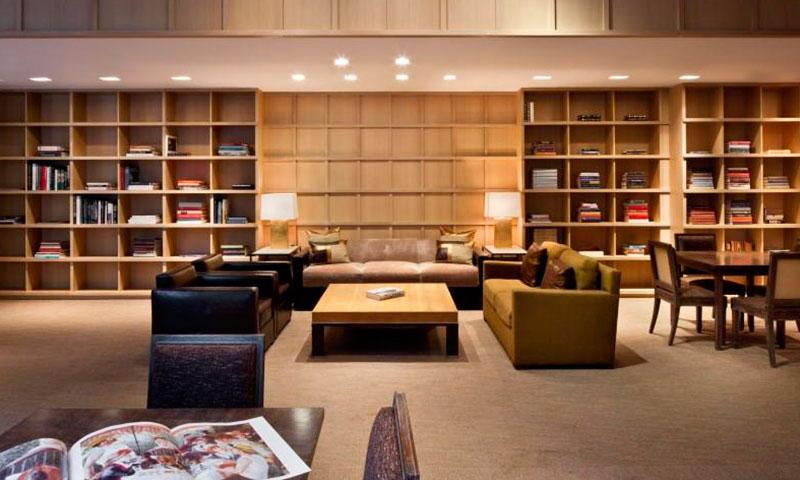 170_East_End_Avenue_Condo-Library