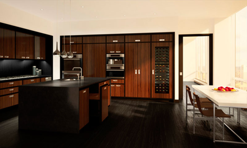 ONE57-tower-new-york-Kitchen