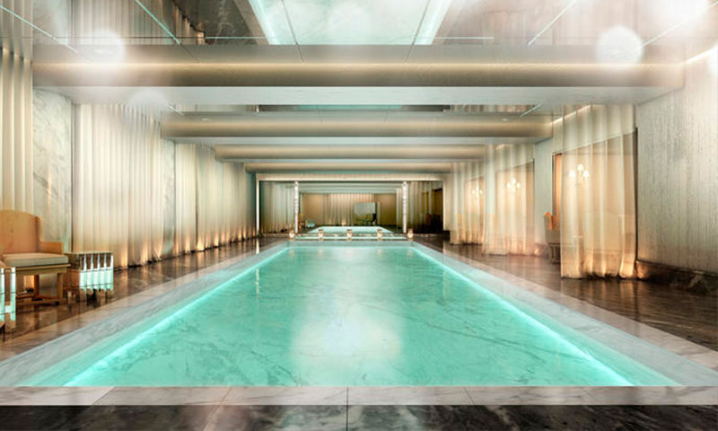 Baccarat-hotel-nyc-Pool