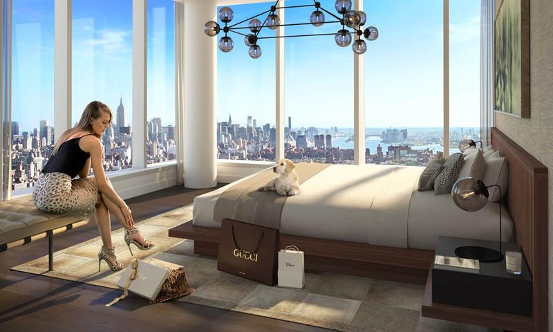 17-One-Manhattan-Square-Master-Bedroom